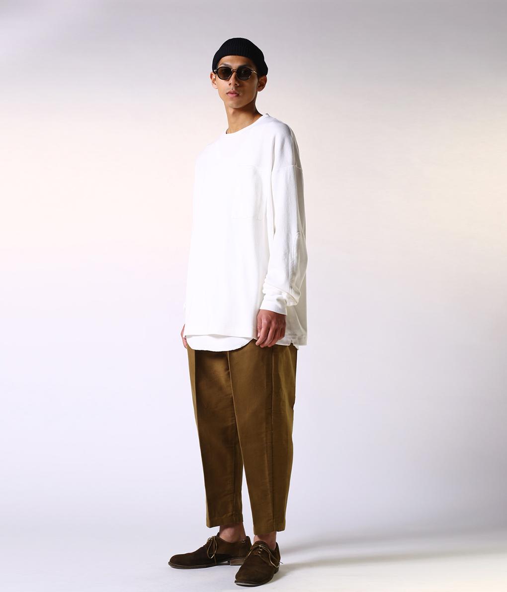GOLD 東洋エンタープライズ / ゴールド : LIGHT THERMAL L/S BIG POCKET T-SHIRT / 全2色 : ライトサーマル ロングスリーブ ビッグポケット Tシャツ 東洋 TOYO トーヨー トーヨーエンタープライズ : GL68137 【MUS】
