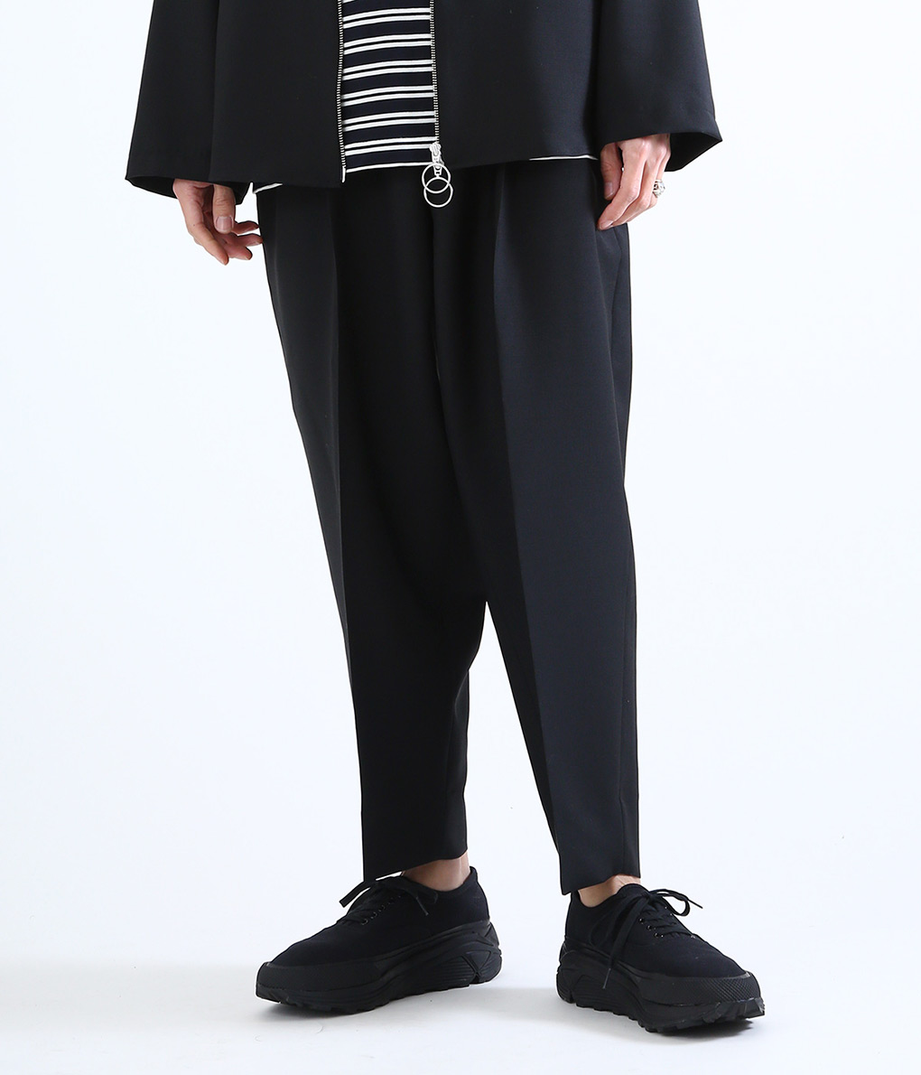 marka / マーカ : 2TUCK COCOON TAPERED FIT - w.m - : ツータック コクーン テーパード パンツ フィット 2タック : M19A-12PT02C 【WIS】