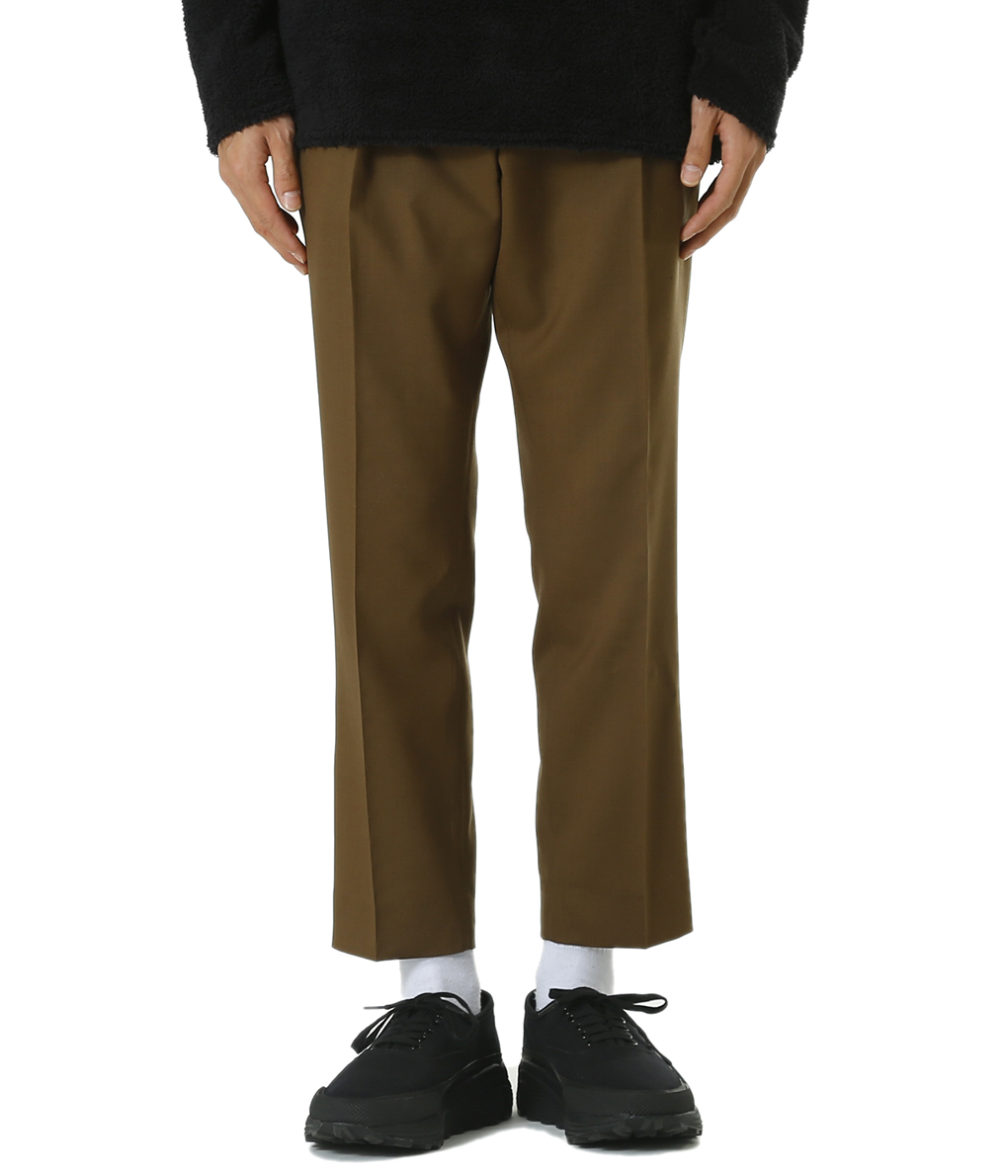 MARKAWARE / マーカウェア : TIGHT FIT TROUSERS -ORGANIC WOOL TROPICAL- : タイト フィット トラウザー : A19A-11PT03C 【MUS】【WIS】