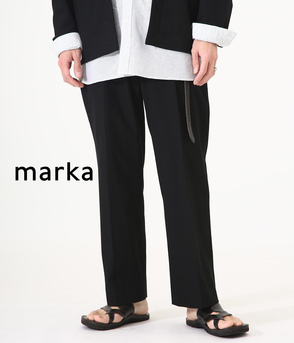 marka / マーカ : STRAIGHT FIT : マーカ ストレートフィットイージー スラックス パンツ ロングパンツ メンズ : M20B-01PT01C 【COR】【WIS】