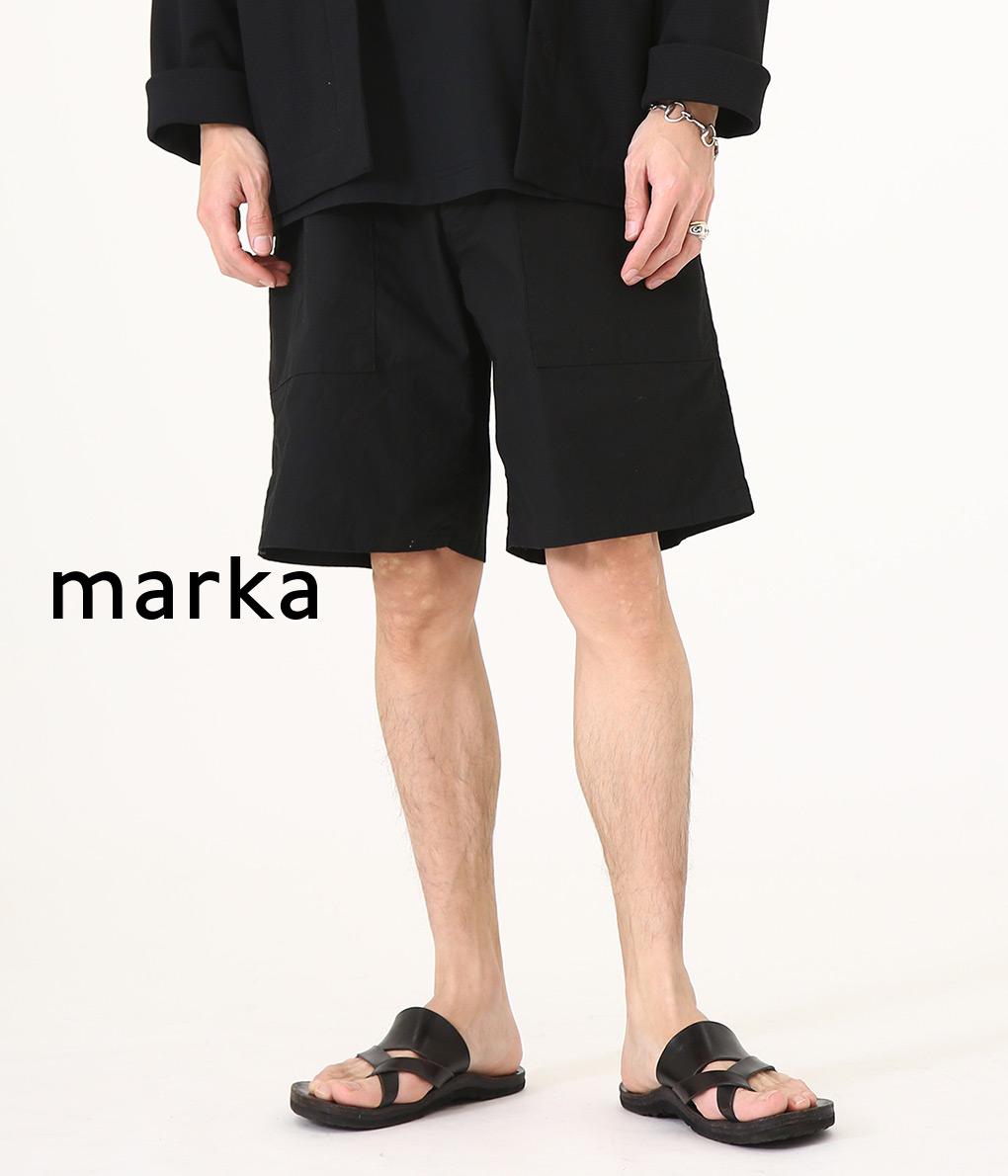 ■【予約商品 2020年5月~6月入荷予定】marka / マーカ : MILITARY SHORTS / 全2色 : マーカ ミリタリーショーツ ショーツ メンズ : M20B-08PT01B 【COR】【WIS】