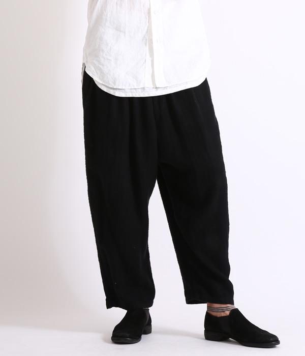 GOLD 東洋エンタープライズ / ゴールド : LINEN HERRINGBONE BALLOON PANTS/ (リネン ヘリンボーン バルーン パンツ)GL41591-B【MUS】【WIS】