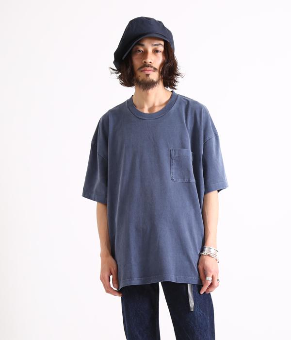 marka / マーカ : BIG Tee : ビッグティーシャツ ビッグT Tシャツ 半袖 カットソー : M17B-03CS01B【COR】【WIS】
