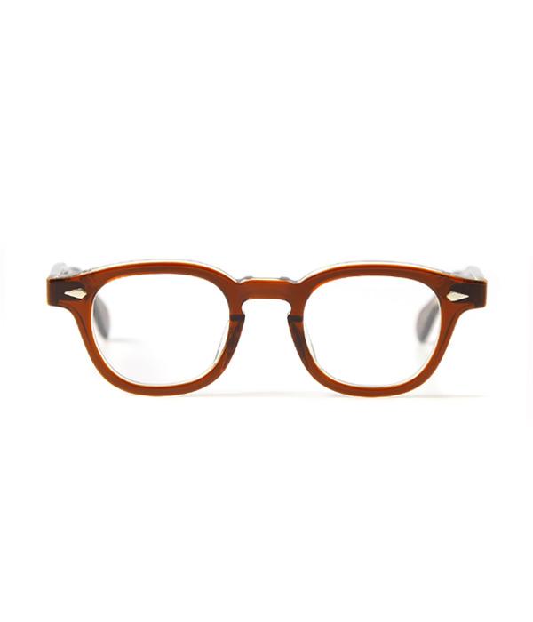 JULIUS TART OPTICAL / ジュリアスタートオプティカル : AR 42 44 46-22 - BROWN CRYSTAL / CLEAR - : サングラス アクセサリー メガネ 眼鏡 : JTPL-009D-1D-2D-wise【WIS】