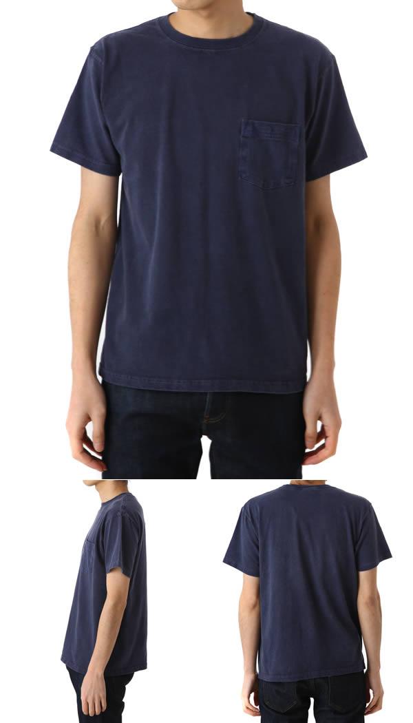 GOOD ON POCKET TEE PG - Navy - (T shirts shirt short sleeve pocket ポケティー) GOST0903P-NAV fs3gm