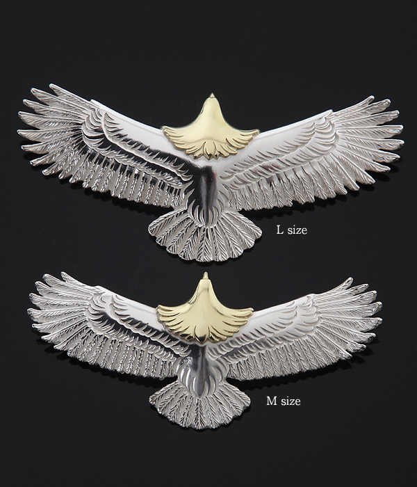 WINGROCK (윙) Eagle Pendant top Ruby-M (목걸이 탑 펜 던 트이 글) EPR-M