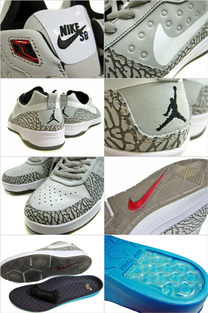 Collaboration with the JORDAN brand in the latest model reminiscent of the  collaborate and founder Paul Rodriguez model JORDAN