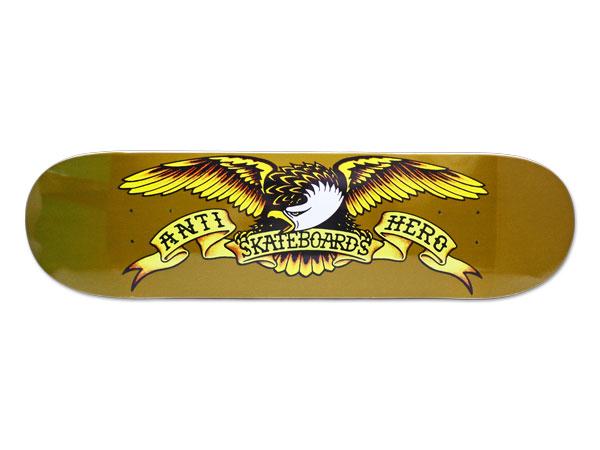 【スケボー/スケートボード/パーツ】ANTIHERO(アンチヒーロー)/デッキ/CLASSIC EAGLE 8.06/幅20.4cm×長さ80.9cm