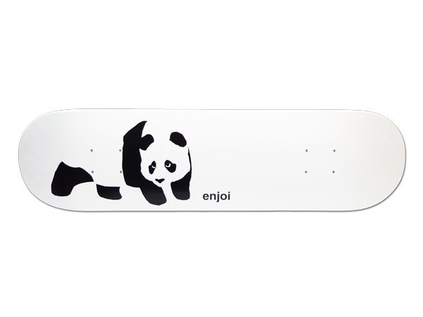 【スケボー/スケートボード/パーツ】ENJOI(エンジョイ)/デッキ/WHITEY PANDA 7.75/幅19.7cm×長さ79.1cm