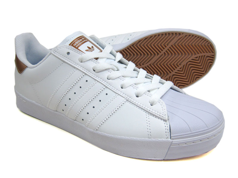 【SALE】ADIDAS SKATEBOARDING/SUPERSTAR/BB8611/white×coppmt×white