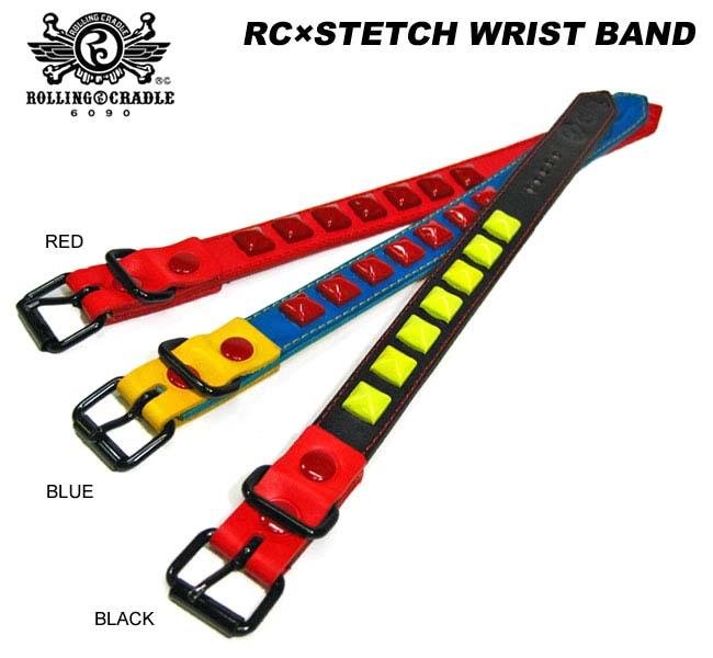 【ロリクレ】ROLLING CRADLE(ローリングクレイドル)/RC×STETCH WRIST BAND/リストバンド