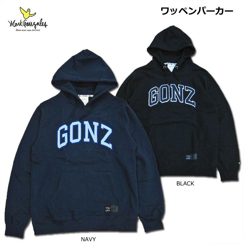 【SALE】MARK GONZALES(マーク・ゴンザレス)/ワッペンパーカー