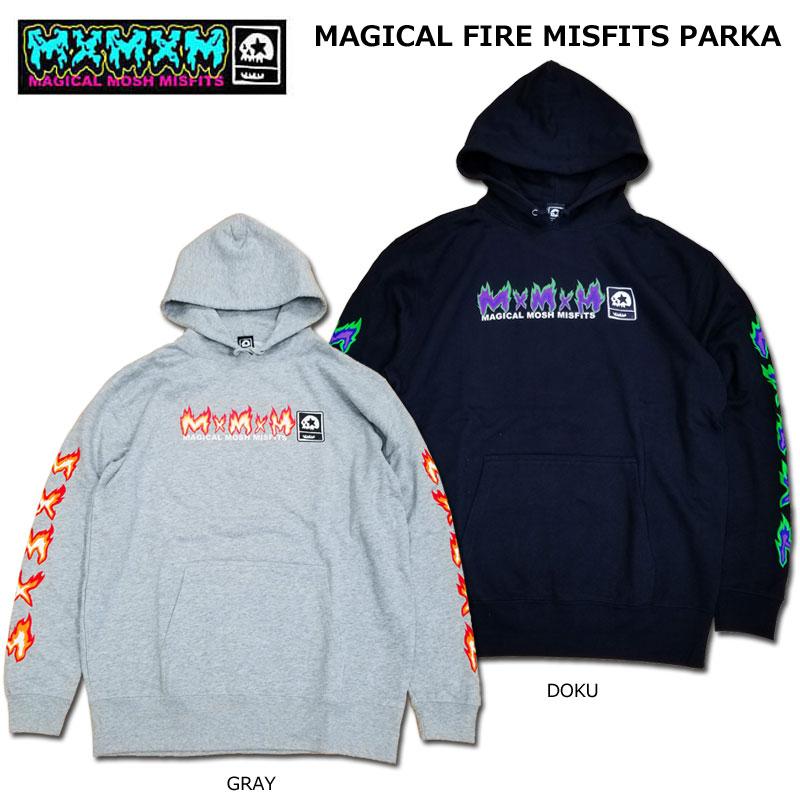 【MxMXM】MAGICAL MOSH MISFITS(マジカル モッシュ ミスフィッツ)/MAGICAL FIRE MISFITS PARKA /プルオーバーパーカー