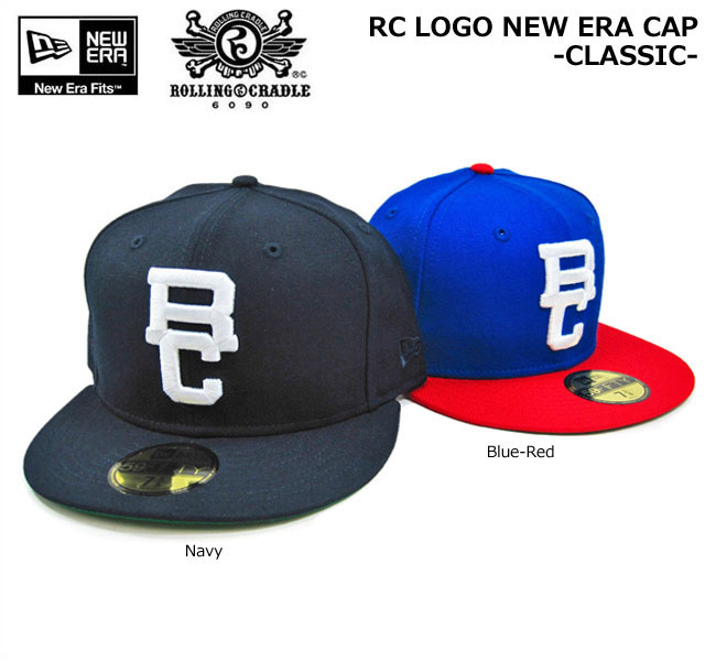 NEW ERA(ニューエラ)×ROLLING CRADLE/RC LOGO NEW ERA CAP -CLASSIC-/59FIFTY/ベースボールキャップ