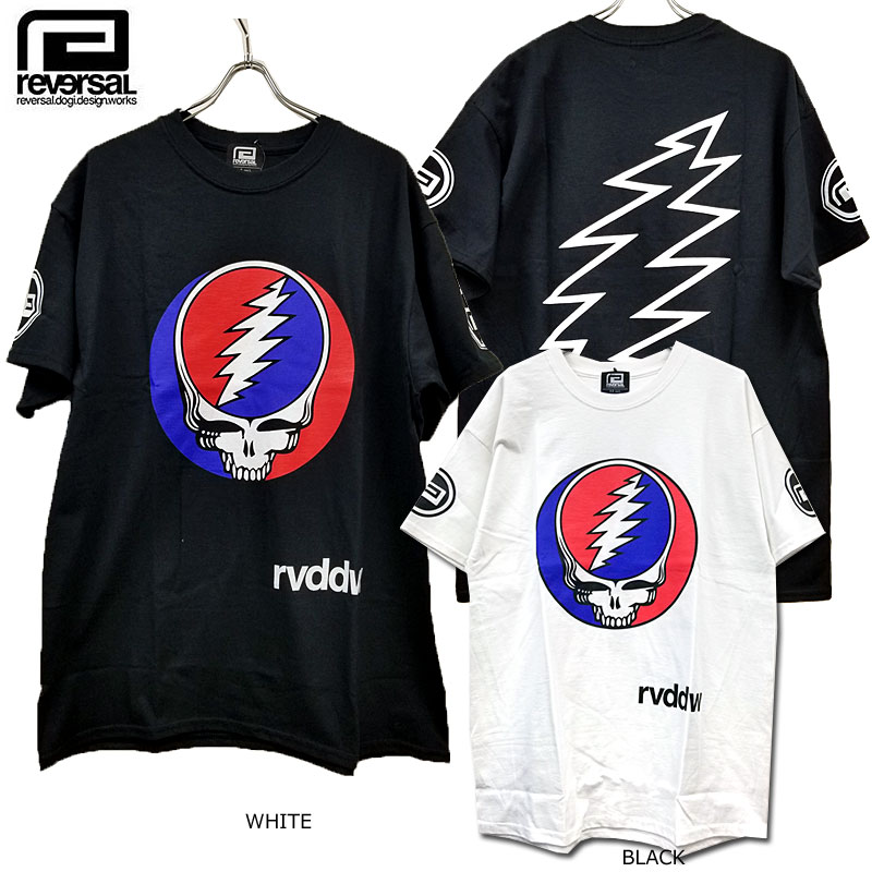 reversal(リバーサル)/Steal Your Face TEE /Grateful Dead/Tシャツ