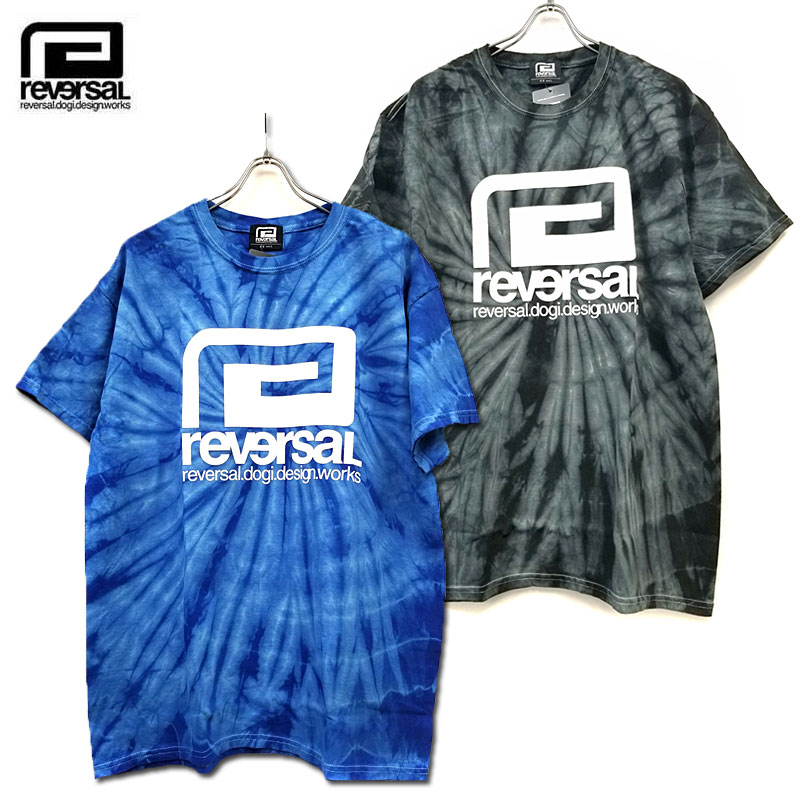 reversal(リバーサル)/SPIDER TIE DYE TEE /タイダイTシャツ