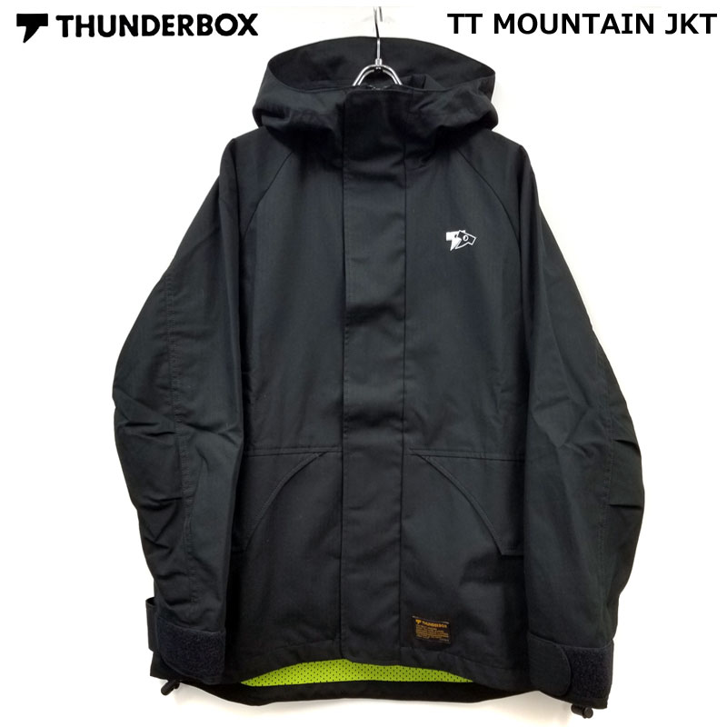 THUNDERBOX(サンダーボックス)/マウンテンジャケット/TT MOUNTAIN JKT[Black]