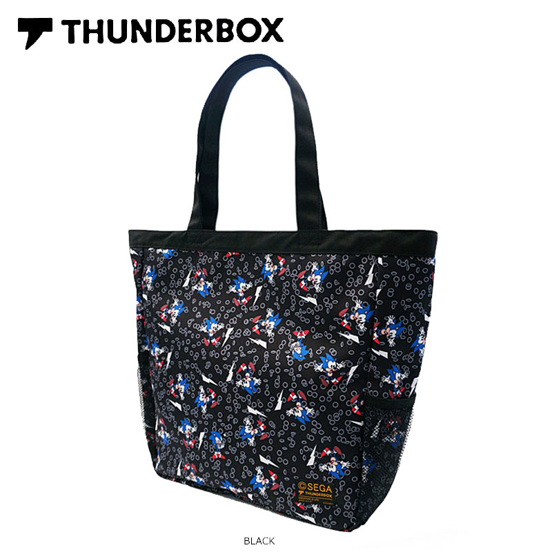 THUNDERBOX(サンダーボックス)/SONIC×TB TOTE BAG/トートバッグ/SONIC THE HEDGEHOG/ソニック・ザ・ヘッジホッグ