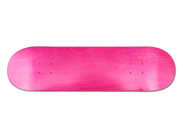 【スケボー/スケートボード/パーツ】REPTILE/SUPER HARDブランクデッキPINK(ピンク)/8×31.25インチ