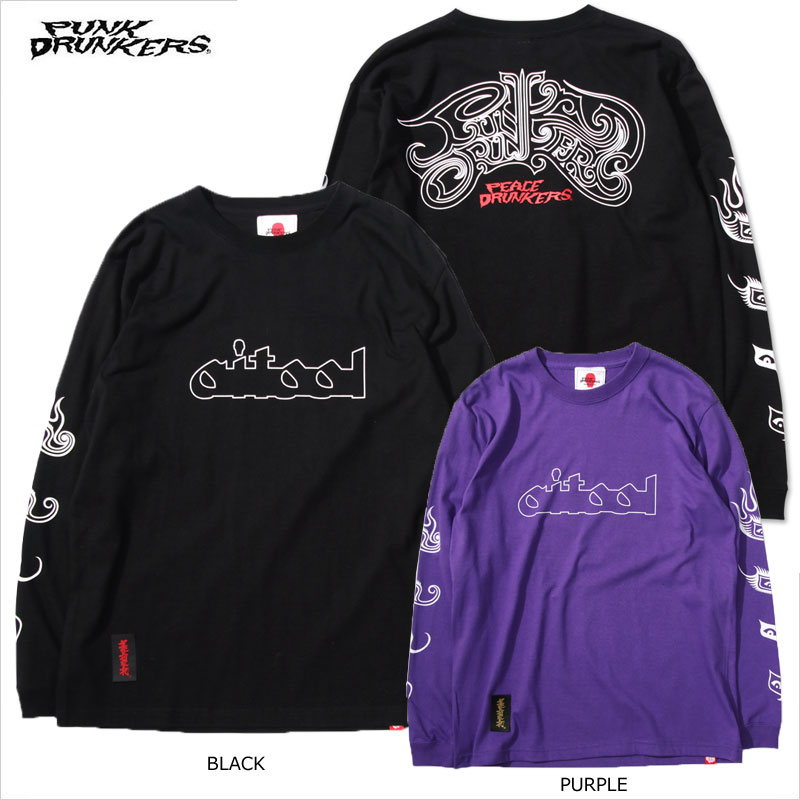 PUNK DRUNKERS(パンクドランカーズ)/PDS×PEACEMAKER/ AITOOLロンTEE