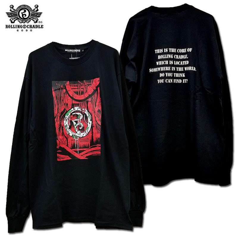 【ロリクレ】ROLLING CRADLE(ローリングクレイドル) /ROLLING CRADLE CORE LONG SLEEVE /長袖Tシャツ