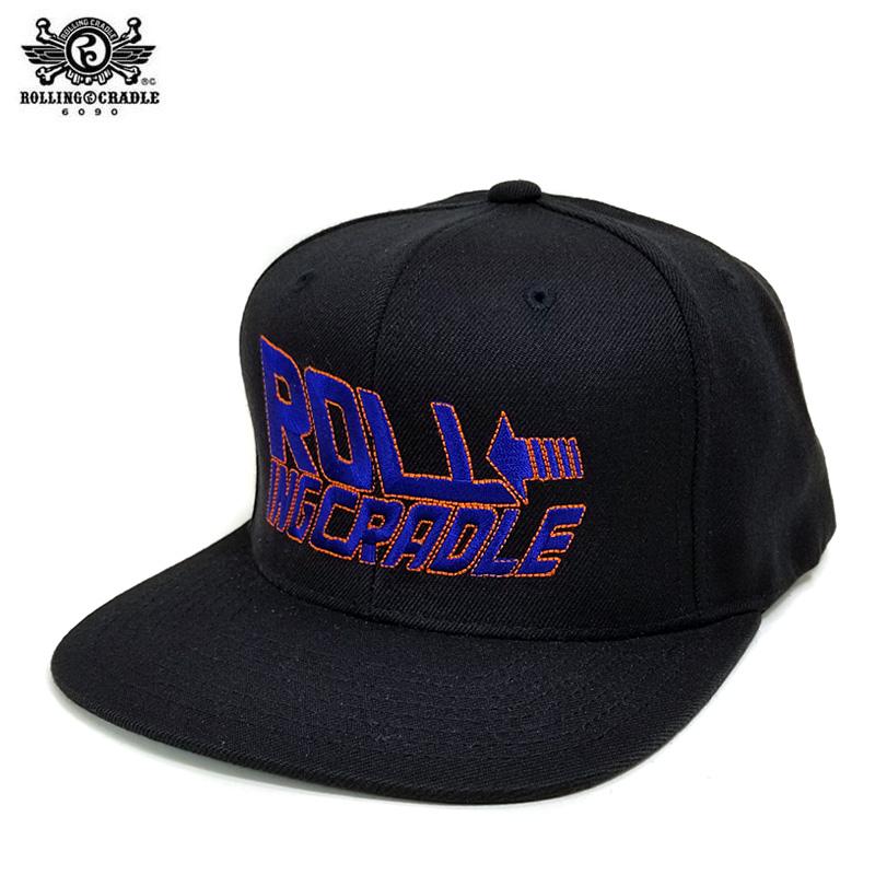 【ロリクレ】ROLLING CRADLE(ローリングクレイドル)/TIME TRAVEL CAP [BLACK]/キャップ