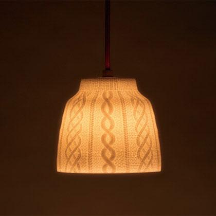 Trace Face Light(トレースフェイス ライト)セメント CEMENT セメントプロデュースデザイン ランプ シェード お洒落 雑貨 おすすめ 送料無料 デザイン 陶器 天井照明 照明 日本製【anan】【Elle DÉCOR】