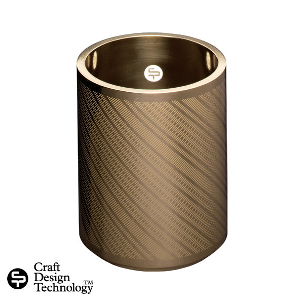 真鍮ペンホルダー【Craft Design Technology】(クラフトデザインテクノロジー)940-102鄭秀和 高級 デザイン文房具/CDT