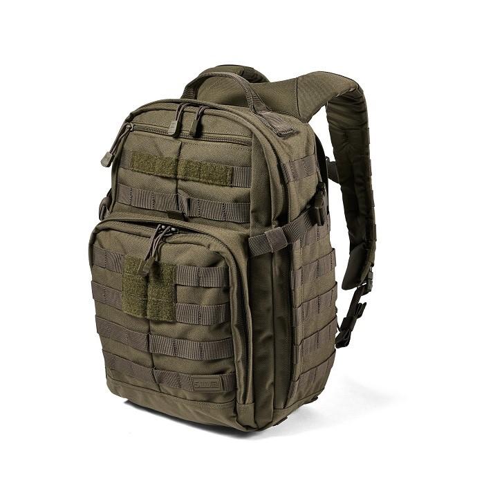 正規代理店 100%品質保証 新型 RUSH12 2.0 タクティカル バックパック 軍用 贈与 5.11 ファイブイレブン ラッシュ12 56561 レンジャーグリーン バック 送料無料 24リットル
