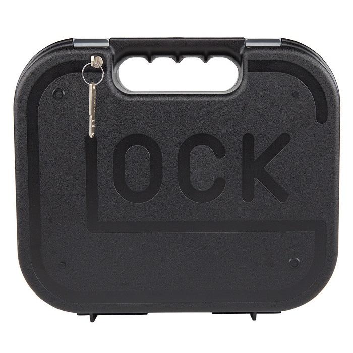 グロック/GLOCK 純正 ハンドガン ガンケース メンテナンスツール付 セキュリティーロック(鍵付)仕様