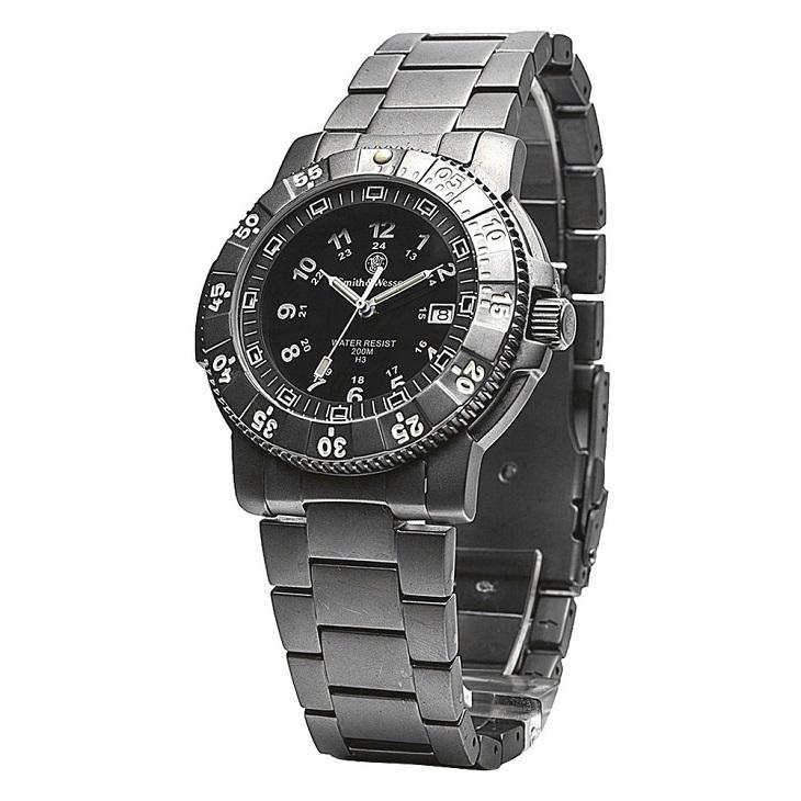 【正規品】スミス&ウェッソン/S&W ミリタリーウォッチ エグゼクティブ H3 発光トリチウム 腕時計 SW357T-BSS【送料無料】