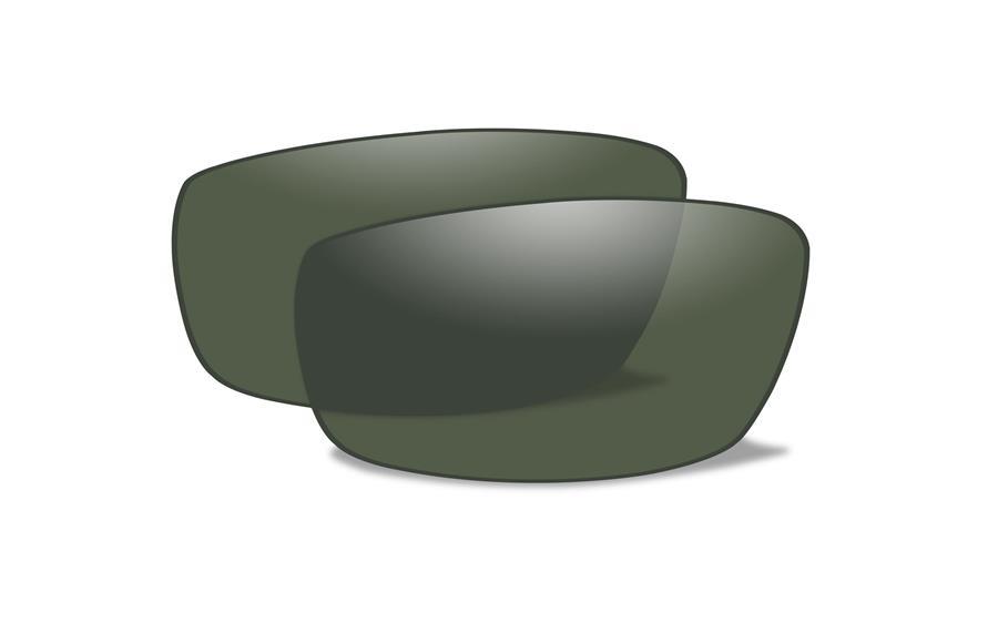 限定品【Wiley X正規販売店】ワイリーエックス SAINT セイント サングラス 交換レンズ 偏光スモークーグリーン (レンズのみ)