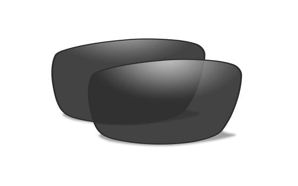 【Wiley X正規販売店】ワイリーエックス/VALOR ヴァロー WX01J BLACK OPS サングラス 交換レンズ 偏光スモークグレー(レンズのみ)