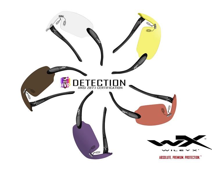 【Wiley X正規販売店】ワイリーエックス/ディテクション DETECTION 5枚レンズ [Matte Black] サングラス