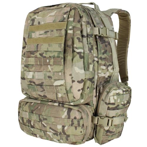 【送料無料】 コンドル/CONDOR タクティカル 3DAYS アサルト バックパック バッグ マルチカム 125