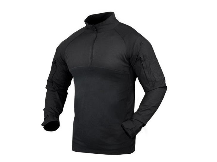 コンドル お値打ち価格で CONDOR コンバットシャツ 101065 ブラック コンバット S CombatShirt シャツ 誕生日 お祝い レターパックプラス配送可