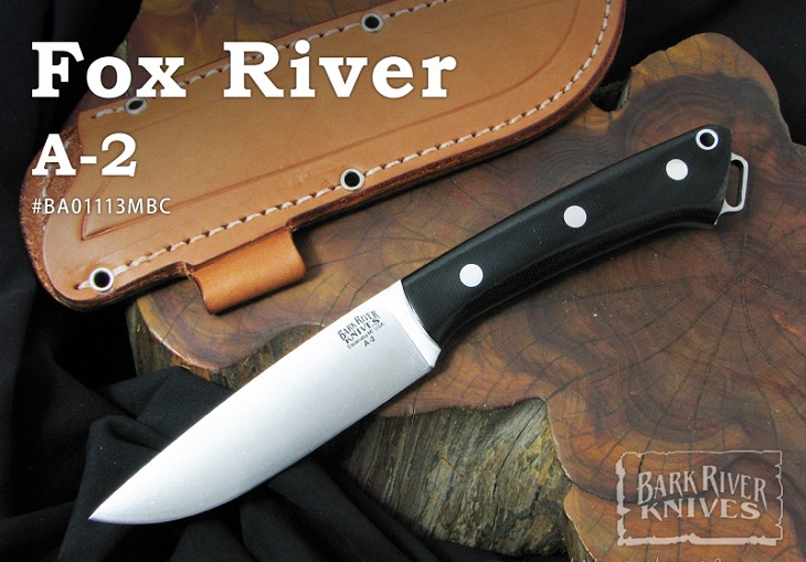 超熱 Bark River River/ バークリバーナイフ/ #BA01113MBC Fox River River フォックスリバー/A2,ブラックキャンバスマイカルタ, コウチチョウ:a3eb35ba --- hortafacil.dominiotemporario.com