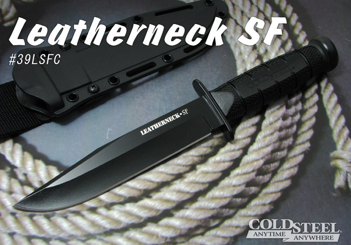 COLD STEEL/コールドスチール 39LSFC レザーネック SF /D2 シース ナイフ