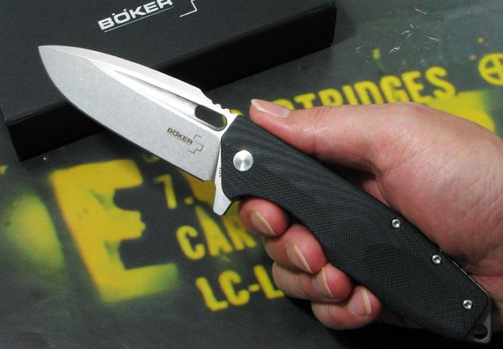 【日本正規品】BOKER Plus/ボーカー プラス #01BO771 カラカル 折り畳みナイフ