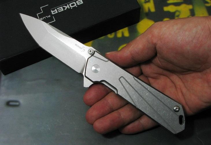 【日本正規品】ボーカープラス 01BO764 キホン Tポイント 折り畳みナイフ