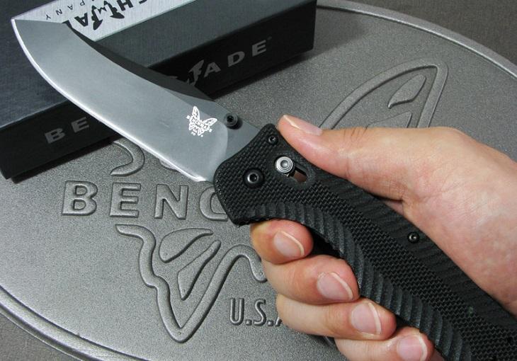 ベンチメイド/BENCHMADE 810BK コンテゴ ナイフ 直刃・黒【日本正規品】