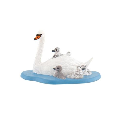 ドイツ生まれの動物フィギュア BULLYLAND ブリーランド 卓抜 全商品 直営ストア 白鳥の親子 全在庫 62322 正規品