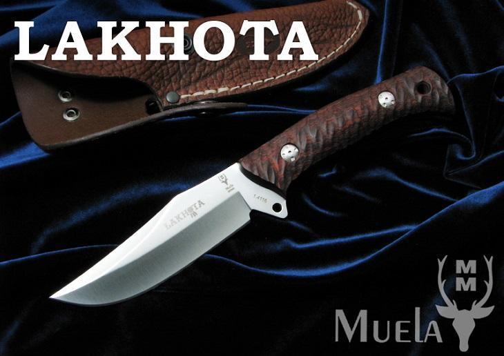 【ページ内クーポン使用で3%off】Muela/ムエラ LAKHOTA-12R ラコタ/コーラル シースナイフ