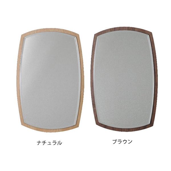 壁掛けミラー 鏡 姿見 レトロ 曲線 ウォールミラー モダン 壁掛け鏡 ナチュラル ミラー 洗面鏡 ナチュラル 細枠 壁掛け ブラウン リビング 玄関 洗面台 和風 和室 インテリア 日本製