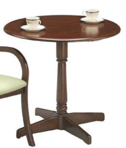 ダイニングテーブル 木製 円形 丸テーブル 丸型テーブル 丸型 円形テーブル リビングテーブル アンティーク ラウンドテーブル 直径75cm 高さ70cm コンパクト カフェテーブル 二人 食卓テーブル 2人用 コーヒーテーブル カフェ テーブル 幅75 75cm幅 単品 机 おしゃれ