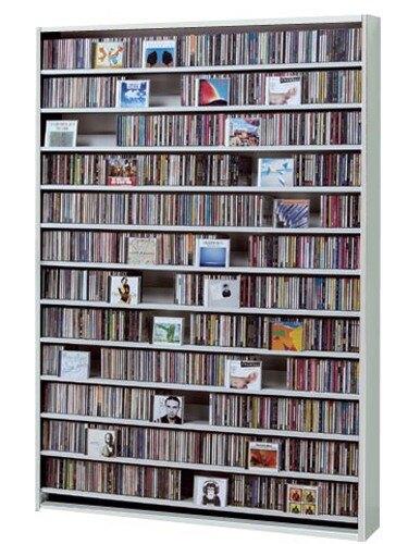 CDラック 棚 ラック CD収納 スリム 壁面収納 収納家具 ホワイト 白 CD dvd収納 大容量 dvd dvdラック CD最大1668枚収納可能 薄型 コンパクト ディスプレイ 壁面収納 日本製 収納家具 大量収納 デザイン 1000枚以上 トール おしゃれ