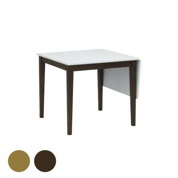 ダイニングテーブル カフェ テーブル 伸縮 折りたたみ バタフライ 伸長式 80 ホワイト 北欧 白 幅120 エクステンション 木製 机 デスク ダイニング 伸長式テーブル 食卓 ダイニング家具 おしゃれ Lavie 80BT 食卓テーブル 二人 二人用 高さ70cm