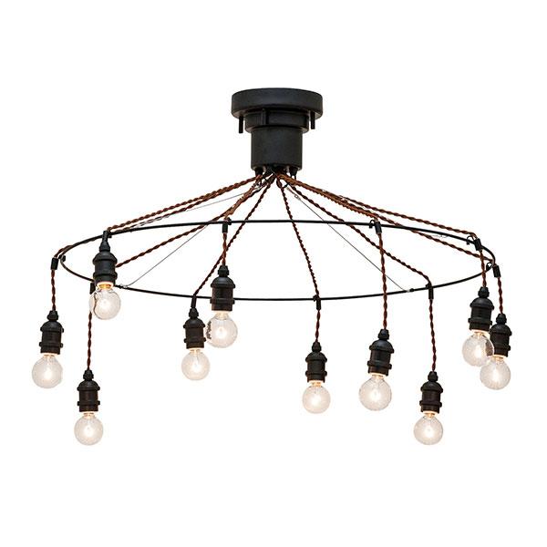 ライト ランプ 照明器具 カフェ風 洋風ペンダントライト 照明 おしゃれ Artesia LED対応 10灯 LED球付属 電気 天井照明 アーティシア アンティーク レトロ シンプル モダン ハンサム ペンダントランプ