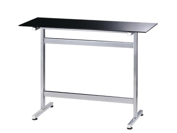バーカウンター テーブル カウンターテーブル 幅120cm バーテーブル ハイテーブル デスク カフェ 北欧 バーカウンターテーブル 120 高さ90cm ハイタイプ ガラステーブル モダン ガラス製 カウンターシンプルモダン スタイリッシュ 家具 クール 机 おしゃれ