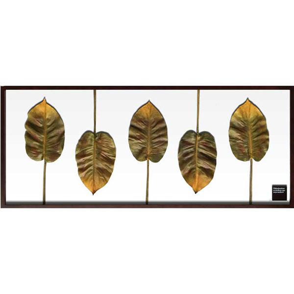 アートパネル 壁 リーフパネル リーフ 人工観葉植物 フェイクグリーン インテリア モダン 壁掛け 北欧 おしゃれ 壁飾り 造花 ウォールパネル 壁面装飾 リビング 玄関 書斎 オフィス カフェ サロン アート 植物 デザイン IFF51068 Philodendron プレゼント ギフト
